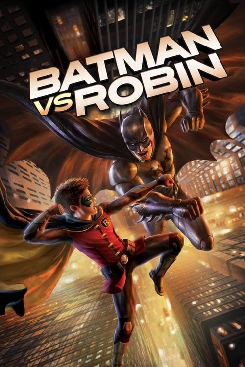 Póster película Batman vs Robin