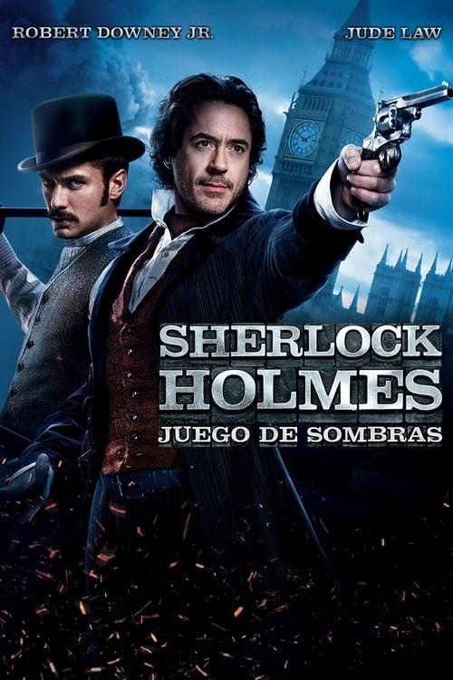 Sherlock Holmes: Juego de sombras poster