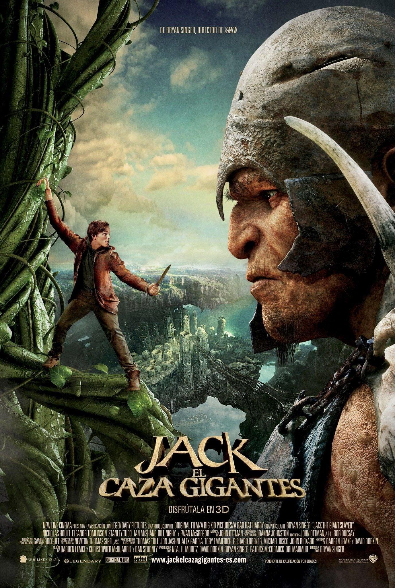 Jack, el cazagigantes poster