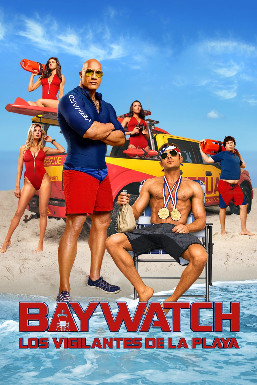 Póster película Baywatch: Los vigilantes de la playa