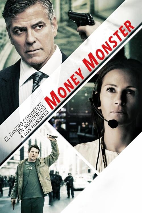Póster película Money Monster