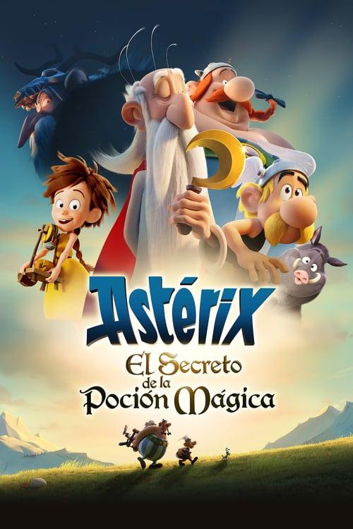 Póster película Astérix - El secreto de la poción mágica