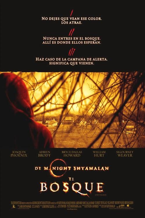 Póster película El bosque
