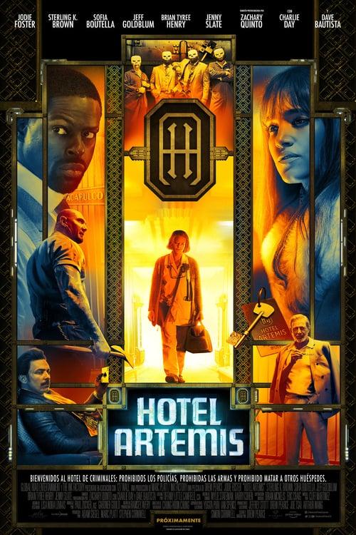 Póster película Hotel Artemis