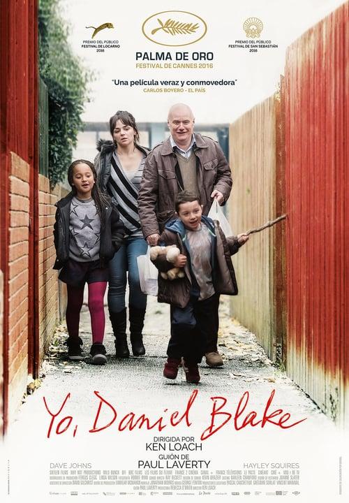 Yo, Daniel Blake poster