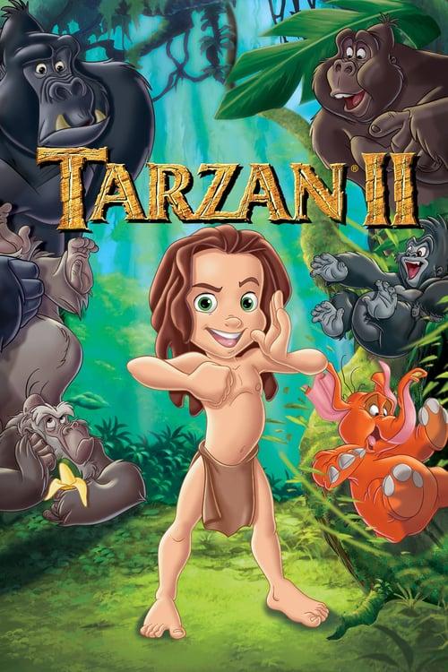 Póster película Tarzán 2
