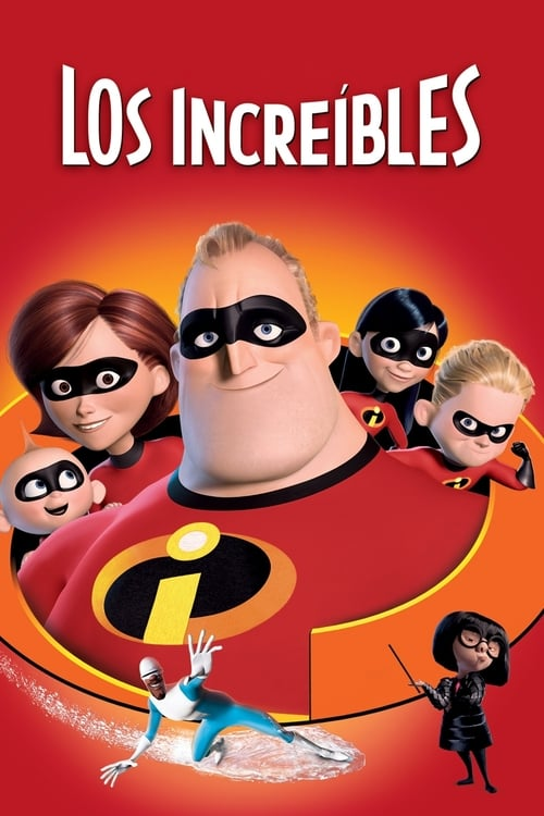 Póster película Los Increíbles