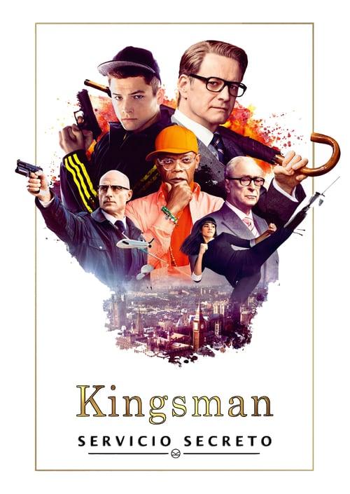 Kingsman: Servicio secreto poster