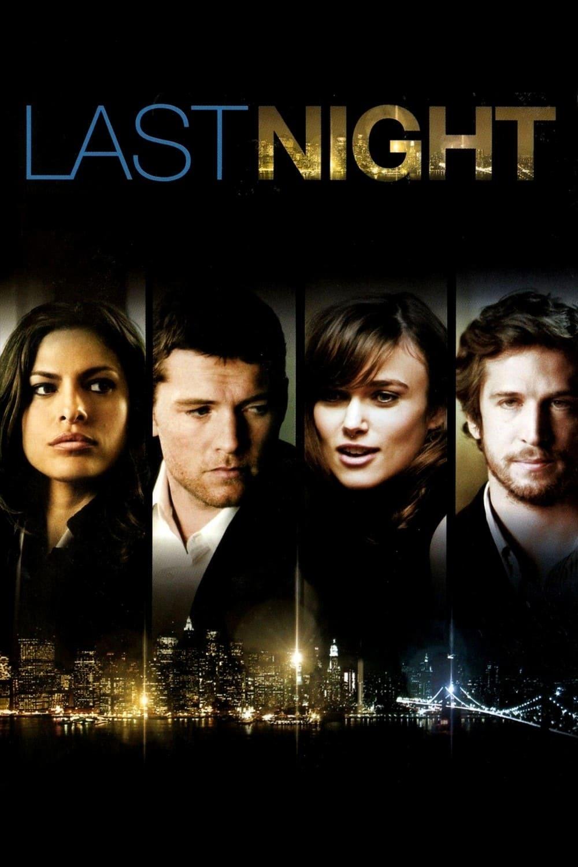 Póster película Sólo una noche