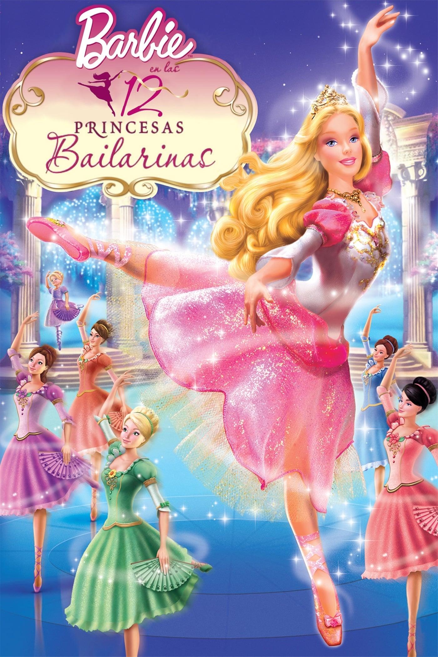 Barbie en Las 12 Princesas Bailarinas poster