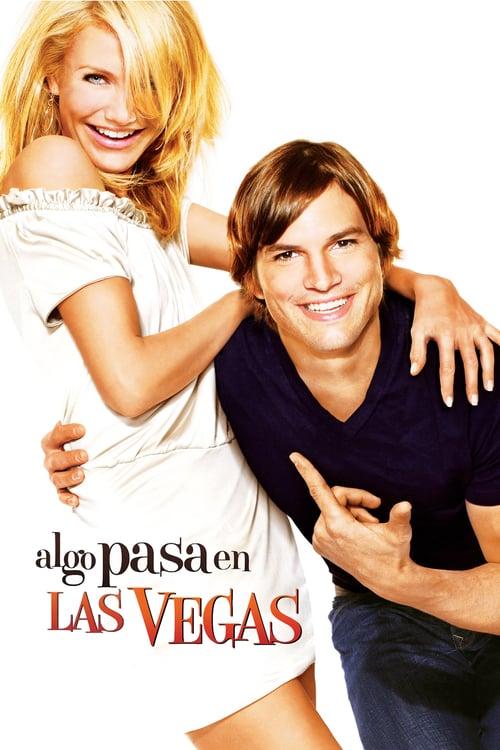 Póster película Algo pasa en Las Vegas