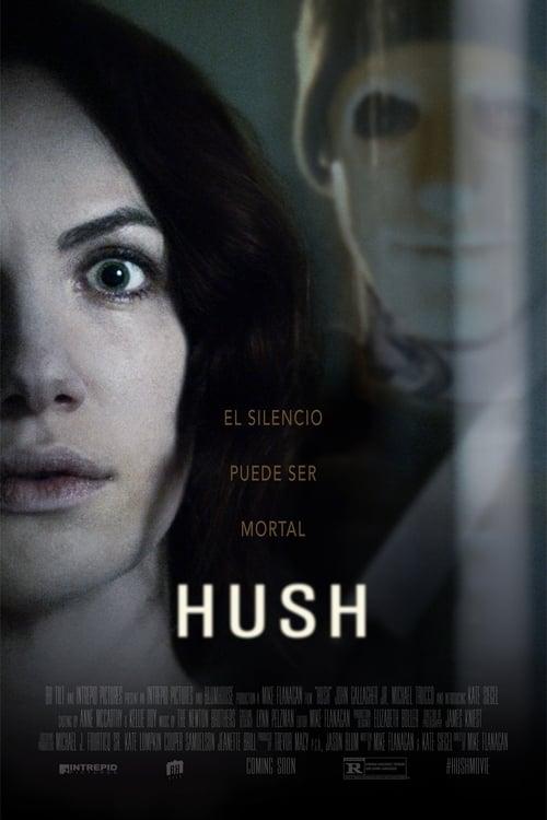 Póster película Pánico (Hush)