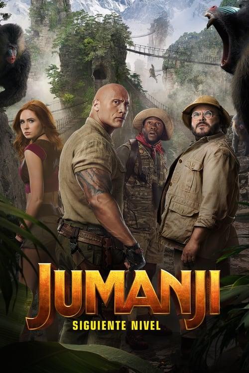 Póster película Jumanji: siguiente nivel