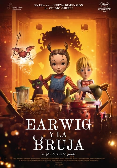 Earwig y la bruja poster