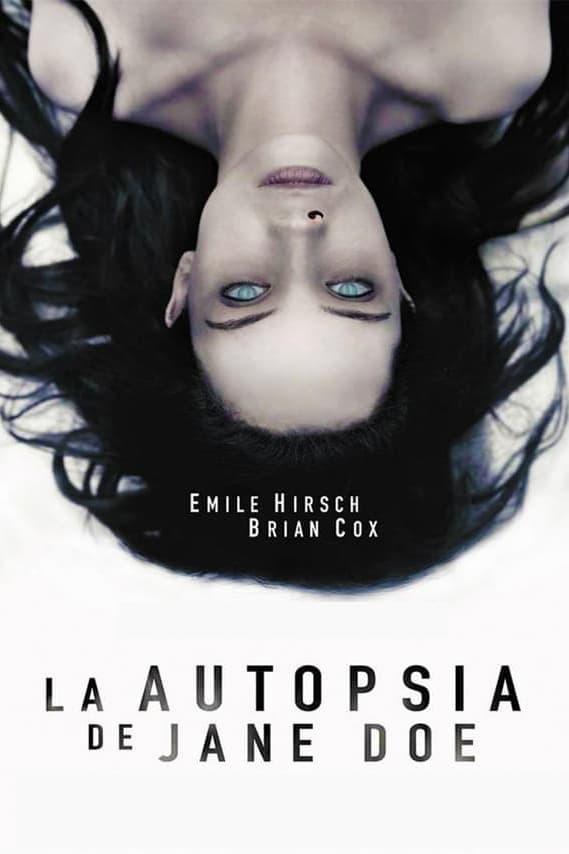 Póster película La autopsia de Jane Doe