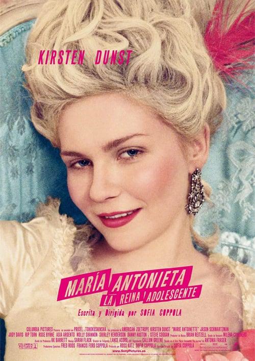 Póster película María Antonieta