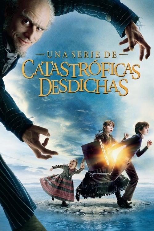 Póster película Una serie de catastróficas desdichas de Lemony Snicket