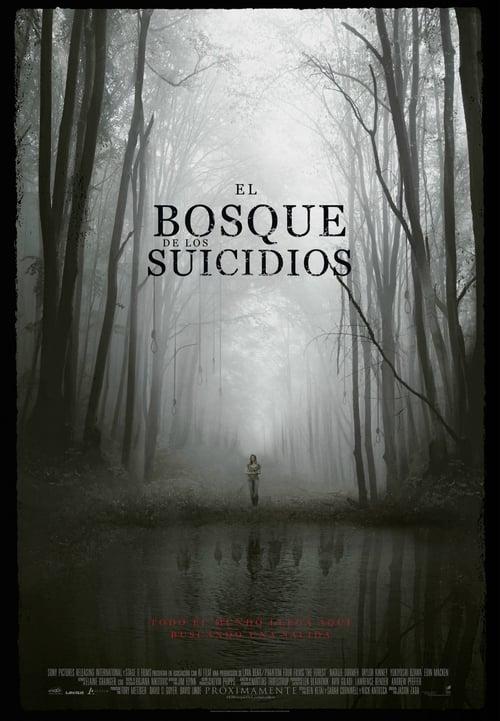 El bosque de los suicidios poster