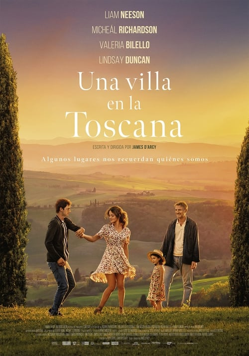 Una villa en la Toscana poster