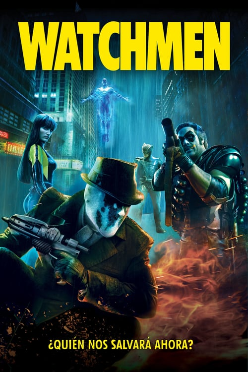 Póster película Watchmen