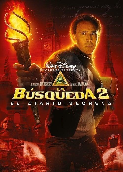 Póster película La búsqueda 2: El diario secreto