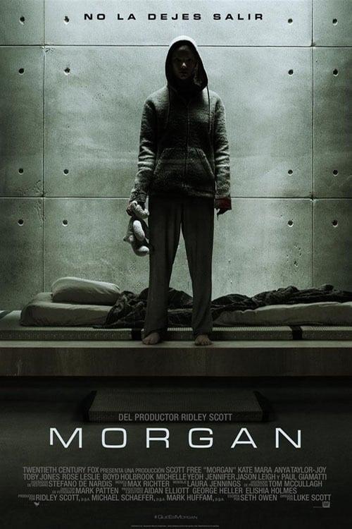 Póster película Morgan