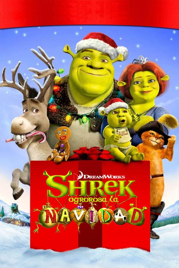 Shreketefeliz Navidad poster