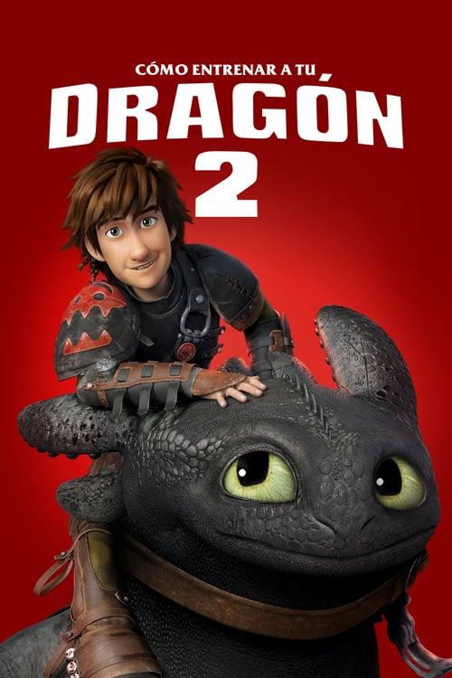 Póster película Cómo entrenar a tu dragón 2