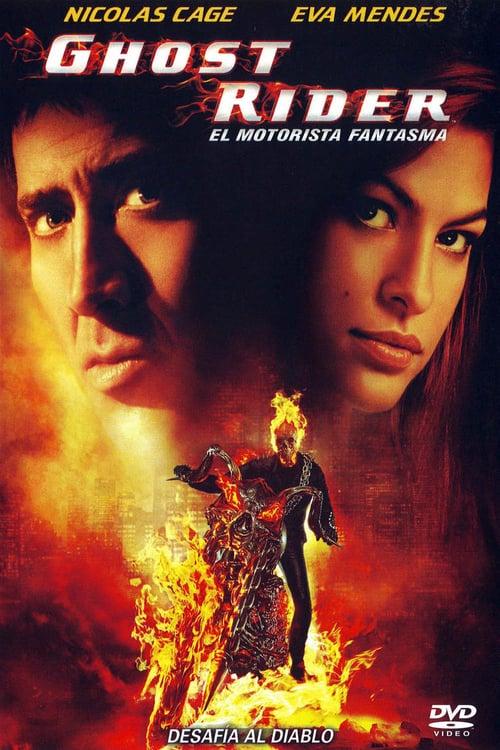 Póster película Ghost Rider: El motorista fantasma