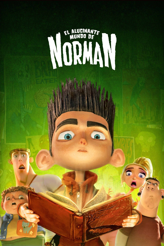 Póster película El alucinante mundo de Norman