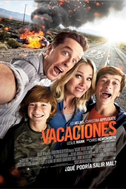 Póster película Vacaciones