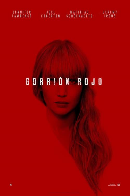 Gorrión rojo poster