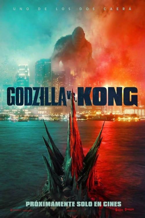 Póster película Godzilla vs. Kong