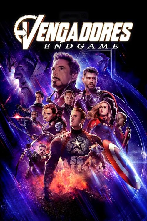 Póster película Vengadores: Endgame