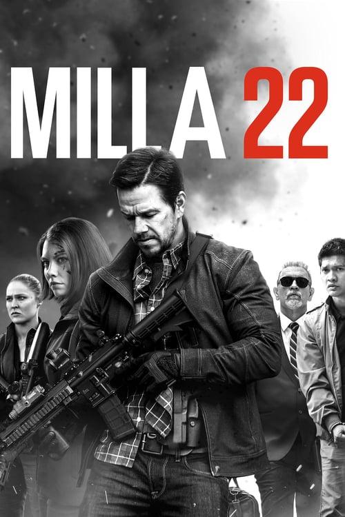 Póster película Milla 22