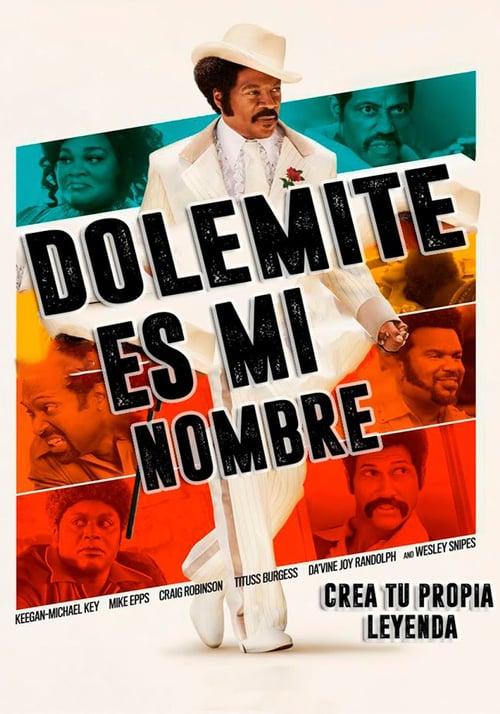Yo soy Dolemite poster