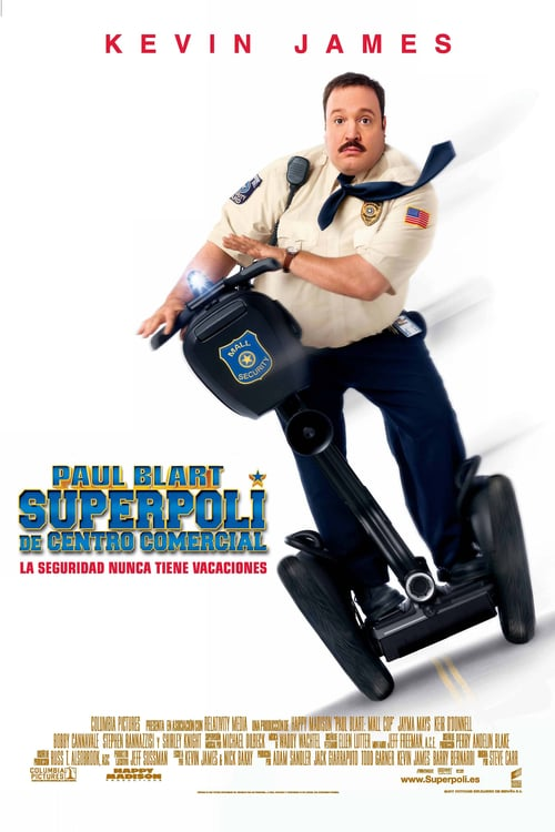 Póster película Superpoli de centro comercial