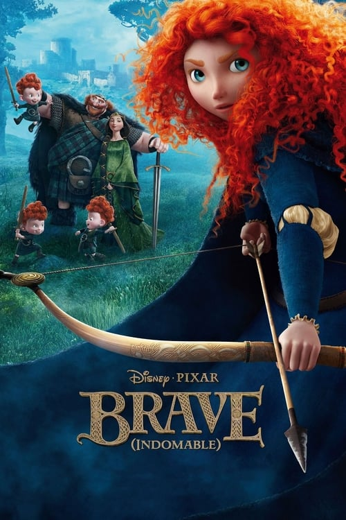 Brave (Indomable) poster
