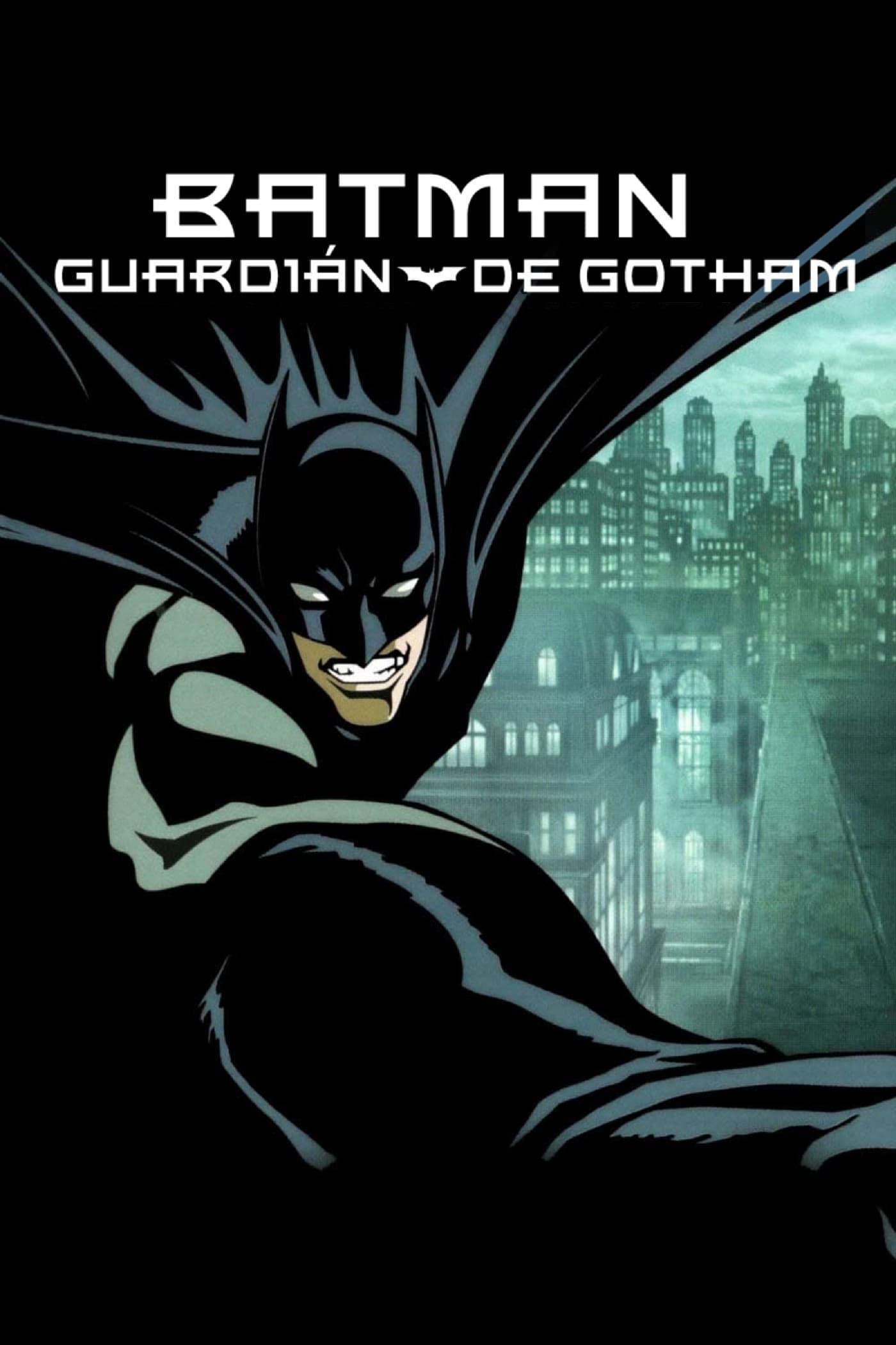 Póster película Batman: Guardián de Gotham