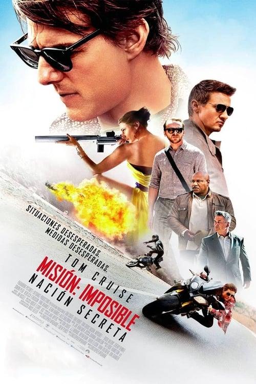 Póster película Misión imposible: Nación secreta