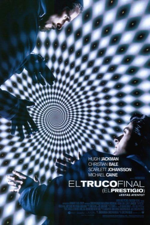 Póster película El truco final (El prestigio)