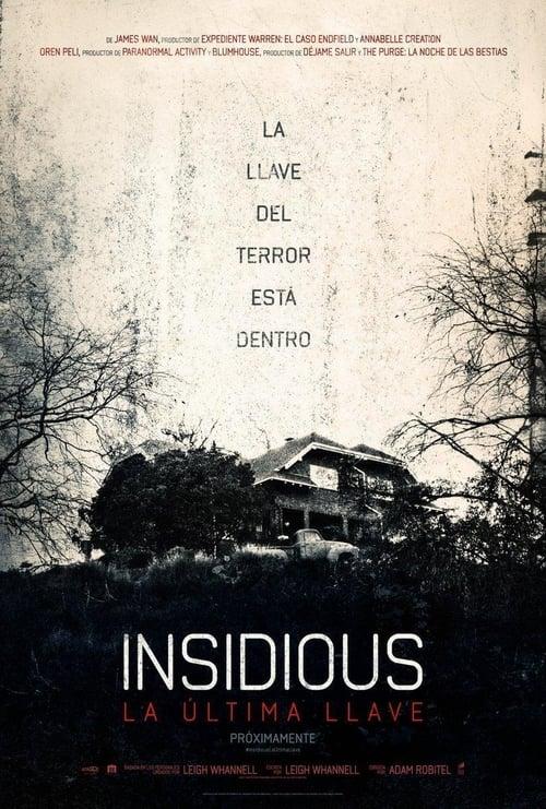 Insidious: La última llave poster