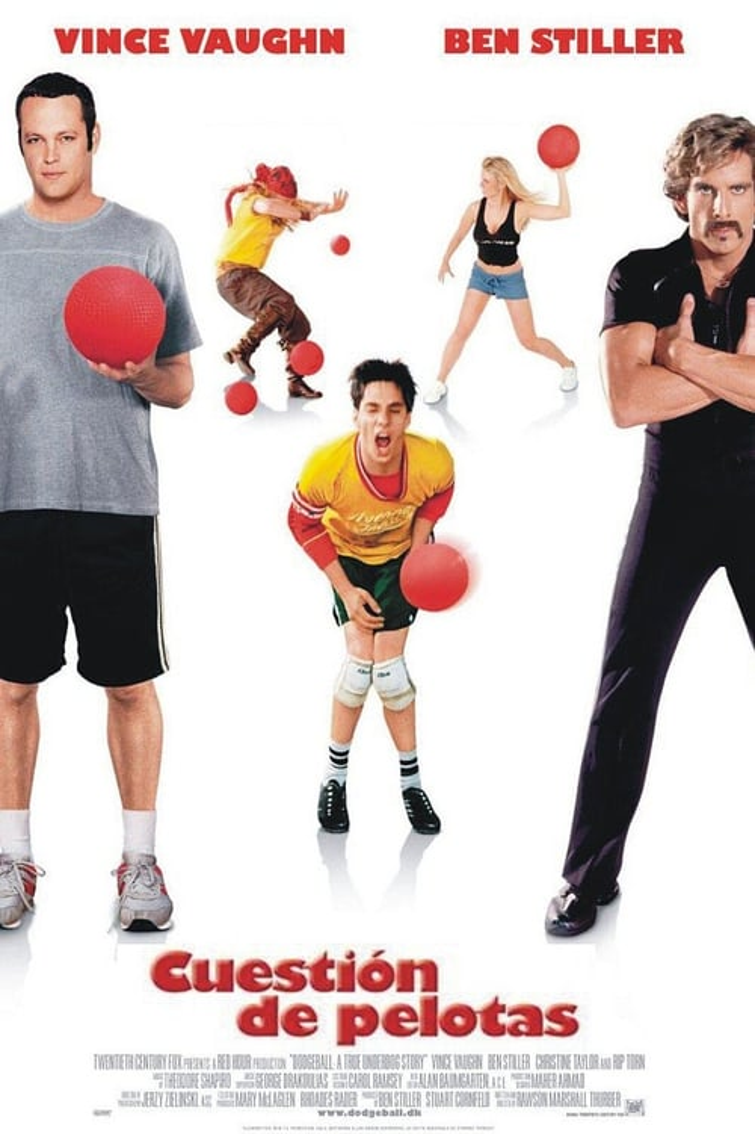 Póster película Cuestión de pelotas