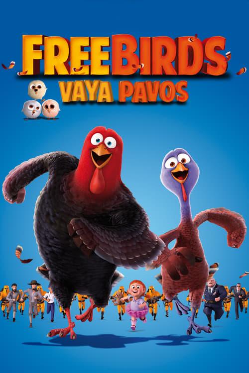 Póster película Free Birds (Vaya pavos)