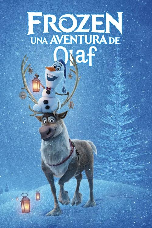 Póster película Frozen: Una aventura de Olaf
