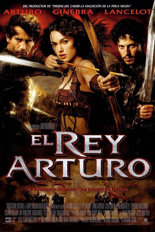 Póster película El rey Arturo