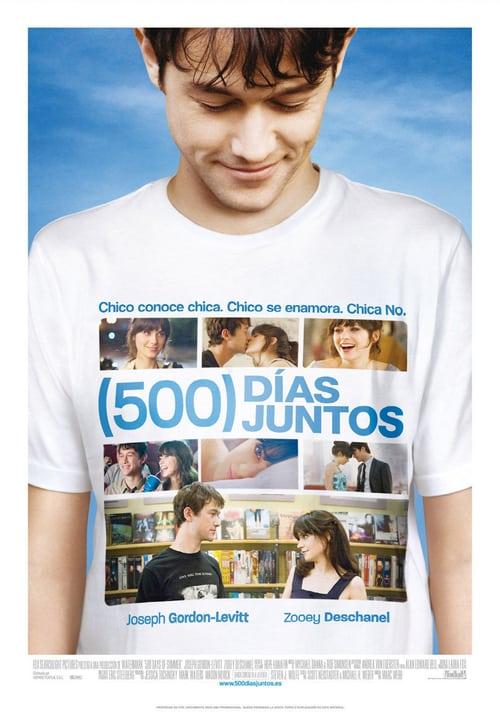 Póster película (500) días juntos