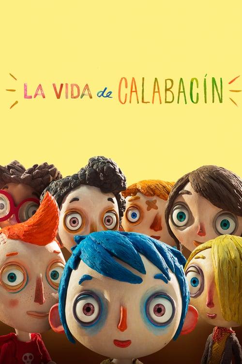 Póster película La vida de Calabacín