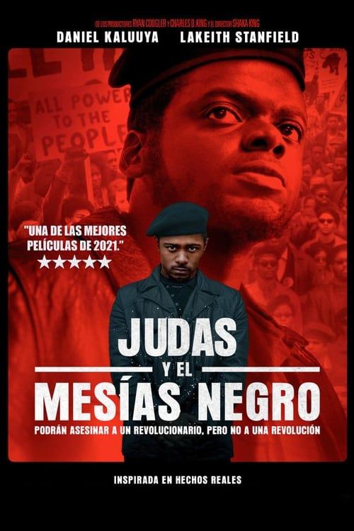 Póster película Judas y el Mesías Negro