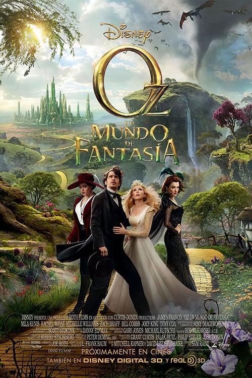 Oz, un mundo de fantasía poster